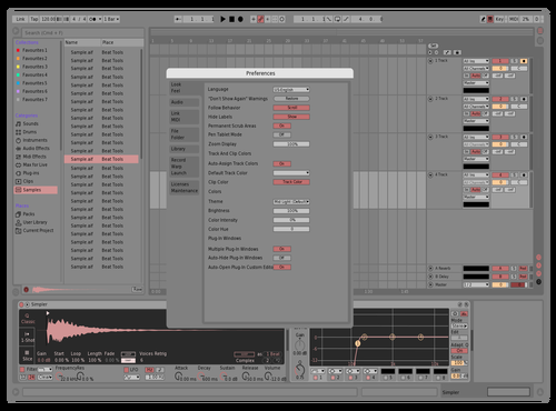 CANDY Theme for Ableton 10 by Matteo
