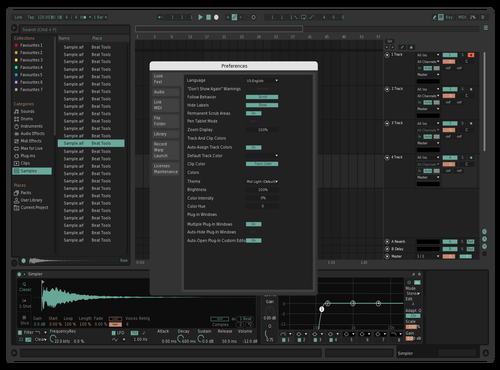 WIP Theme for Ableton 10 by Matthew McAvoy