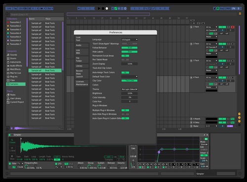 Minimal Blob Theme for Ableton 10 by michele