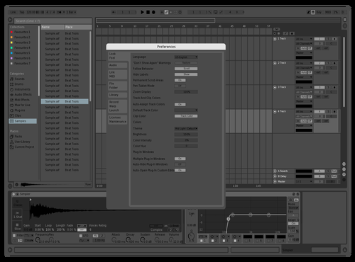 Murky.wav Theme for Ableton 10 by Murk