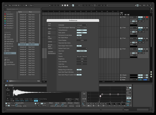 Simple Theme for Ableton 10 by mayoung