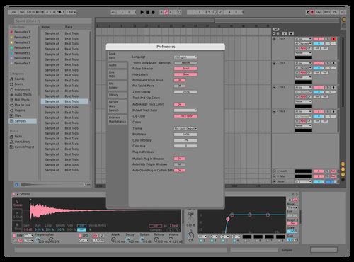 Peanut & Butter Theme for Ableton 10 by Jorge Martin