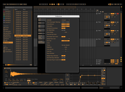 Pornhub black Theme for Ableton 10 by Vincent adeyemo