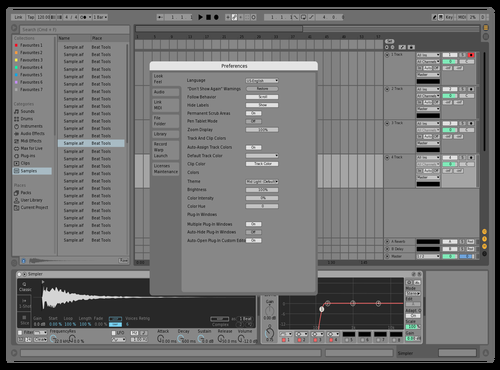 Oliver's Theme Light Theme for Ableton 10 by Vaughn Richard Oliver