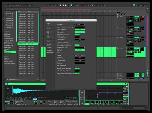 Menyus Theme Updated Theme for Ableton 10 by DeadThunder8