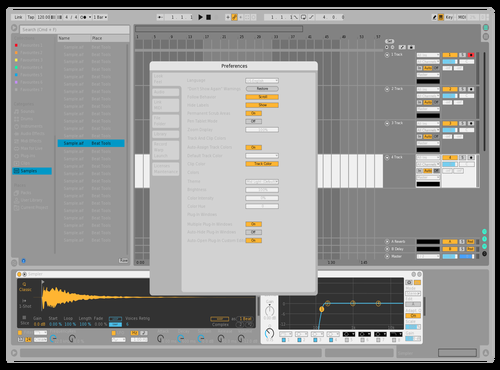 Dont know Theme for Ableton 10 by Kennet Kristensen