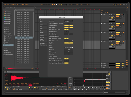 Dark Ember Theme for Ableton 10 by Mathew