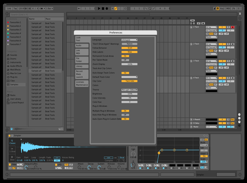 Monster 2 Theme for Ableton 10 by studiopolyphonic