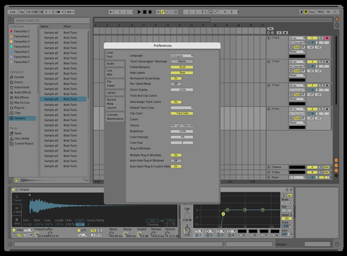 Nobodyk3 Theme for Ableton 10 by yoannjardin