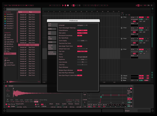 Pink 1 Theme for Ableton 10 by nathan