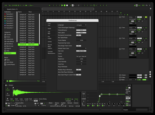 Cleen Darkgreen Theme for Ableton 10 by protoroid