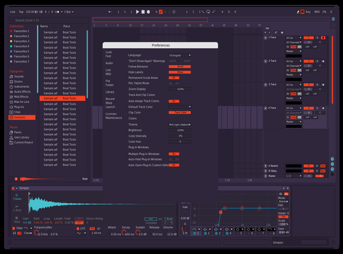 Fire Modifiled Fix Theme for Ableton 10 by Azure Sky