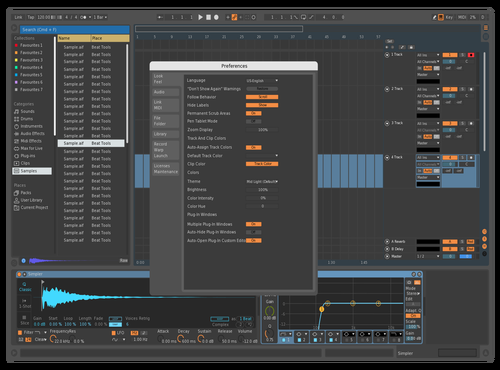 Mio Theme for Ableton 10 by Juan