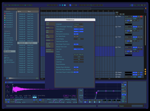Cool Theme for Ableton 10 by Nicolas Martinez