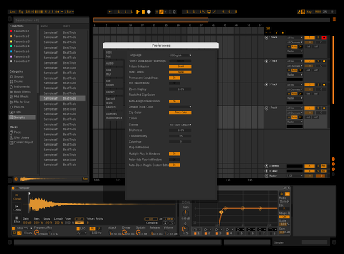Orange (Customized) Theme for Ableton 10 by Gabe