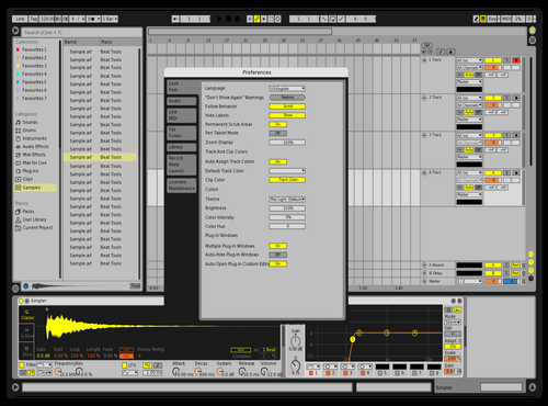 Classic Default 8 v2 Theme for Ableton 10 by BluJayMix