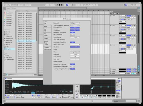 Sno Mobil Theme for Ableton 10 by PunMachine