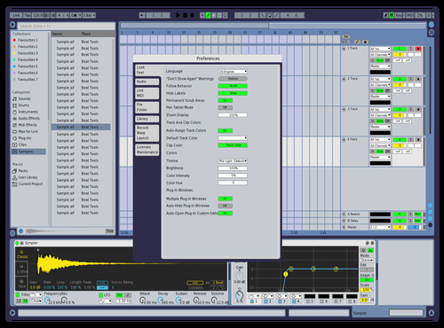 Old Tone Theme for Ableton 10 by Dendi Saputra