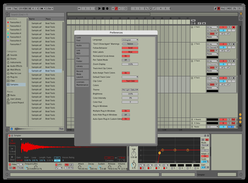 Default But Red Theme for Ableton 10 by Clayton
