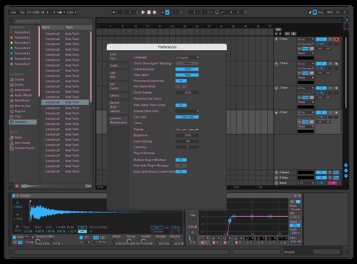 Pink Theme for Ableton 10 by Kyle