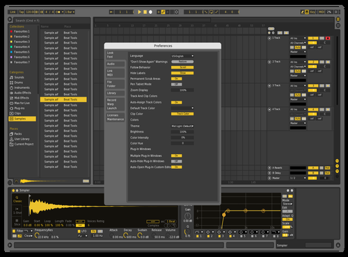 VOLT Theme for Ableton 10 by marc volt