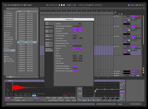 RAILLADUBZ Theme for Ableton 10 by Mats