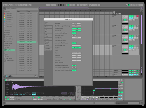 Biolab Grey Theme for Ableton 10 by Stratic_Arts