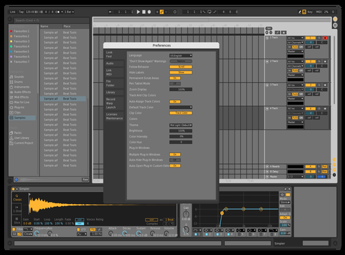 Myck Theme for Ableton 10 by C2K78