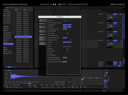 SOMN LIGHT Theme for Ableton 10 by Ikuan Peace Chatfield
