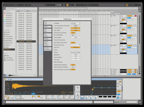 Light B Theme for Ableton 10 by Yoksven