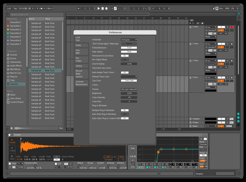 VR Inspired theme Theme for Ableton 10 by Alchemy