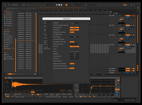 Dark-e Theme for Ableton 10 by RedBull