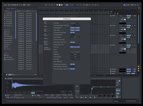 Discord issuefixtest1 Theme for Ableton 10 by Not Reaver alt