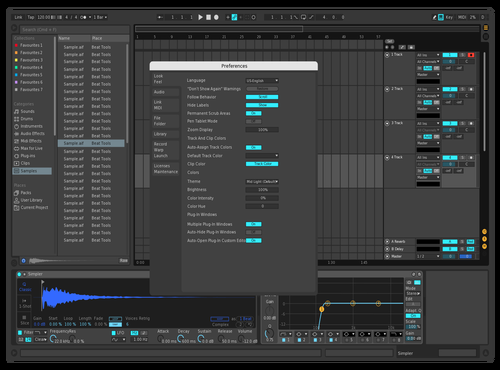 Test Theme for Ableton 10 by Electro Drammz