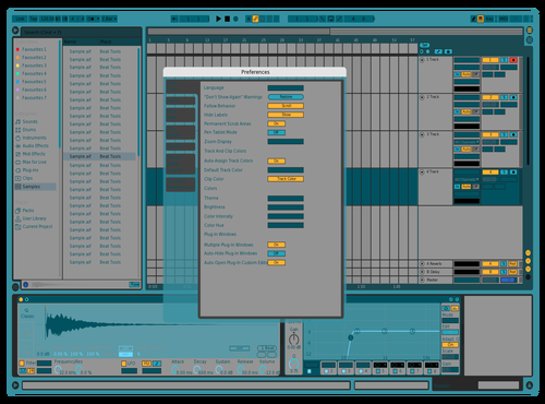 Ack shul lee gud Theme for Ableton 10 by Fletcher Hendrickson