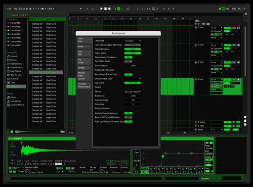 ADMIN Theme for Ableton 10 by Christian Hoang