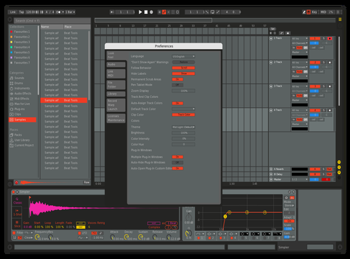 808 Customized beta 2.1 Theme for Ableton 10 by dillionreverse