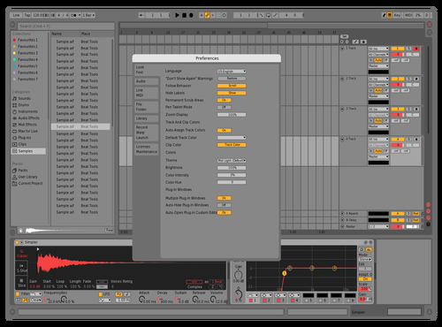Foxofficial MidLight Red Theme for Ableton 10 by Maxim
