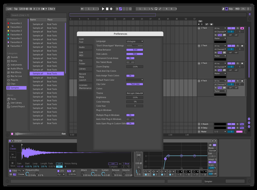 DARK PURPLE Theme for Ableton 10 by eater