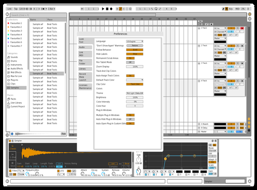ERack Theme for Ableton 10 by Adm