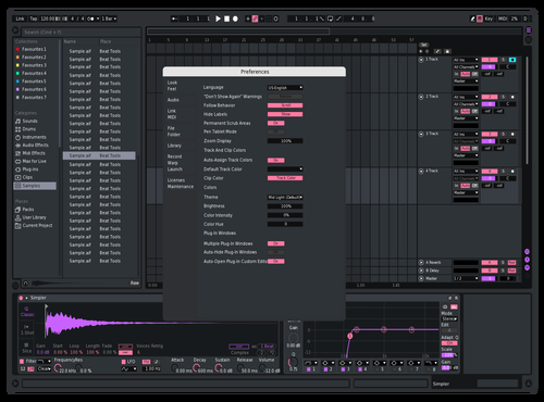 Hjs Theme for Ableton 10 by Reaver