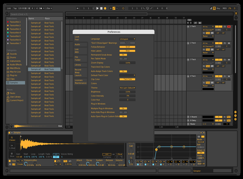 Goldenvibes Theme for Ableton 10 by GRE G
