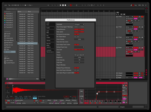 My theme bunny Theme for Ableton 10 by Lopez