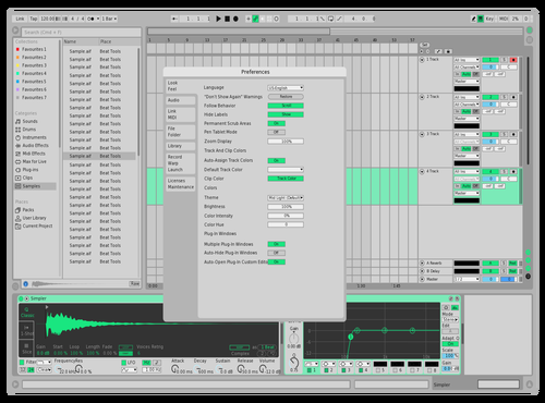 G Theme for Ableton 10 by Dipu Hoque