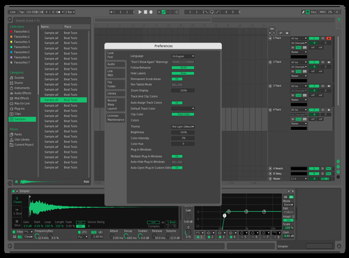 Edit Menta Theme for Ableton 10 by Jorge