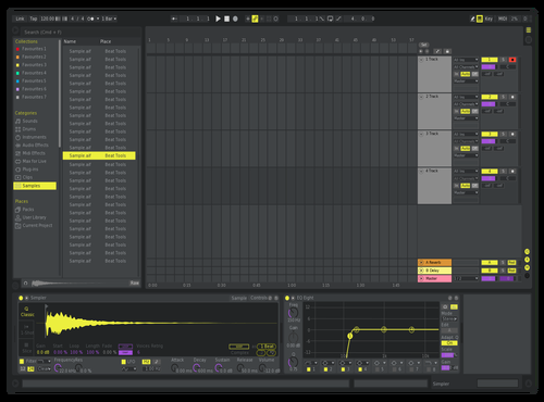 Neon Theme for Ableton 10 by Ableton Themes