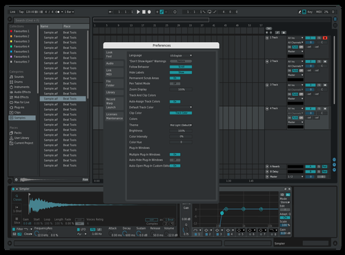 The new Live 11 beta Theme for Ableton 10 by DRstelth