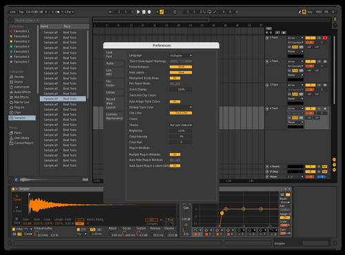 Original Orang Theme for Ableton 10 by Ruslan