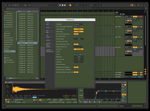 Gmxmod Theme for Ableton 10 by niummed