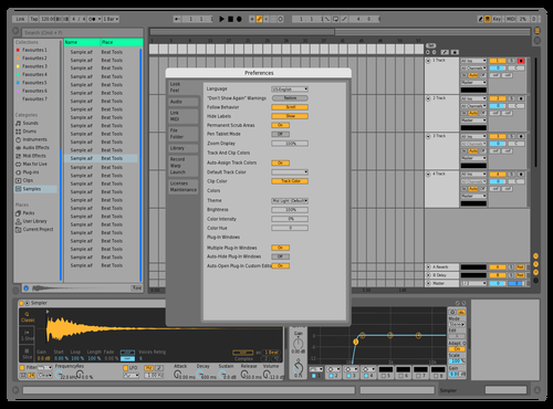 New User 6 Theme for Ableton 10 by Curt